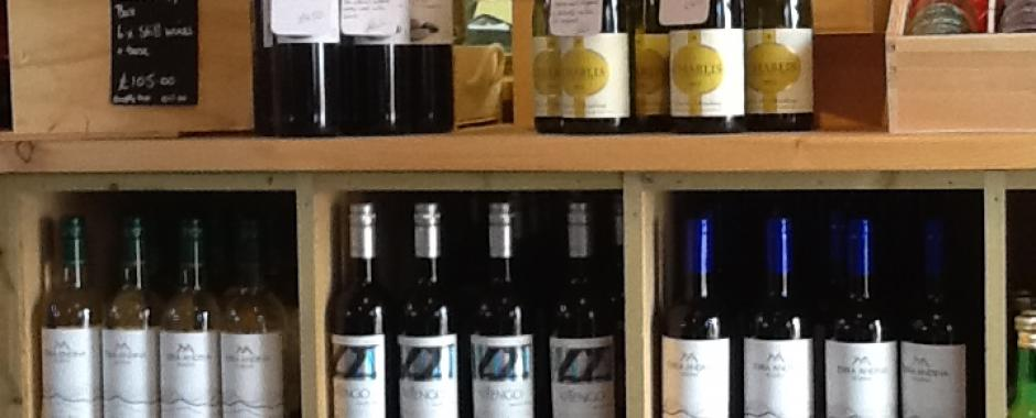 New wine varieties in the polgoon deli