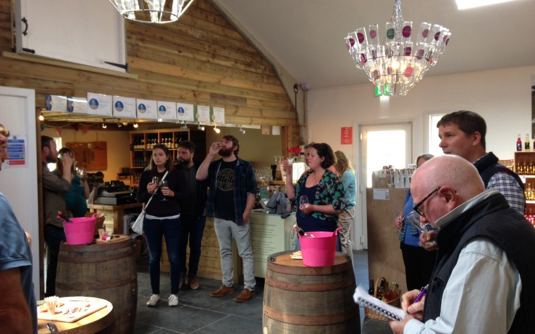 English Wine Tasting Event