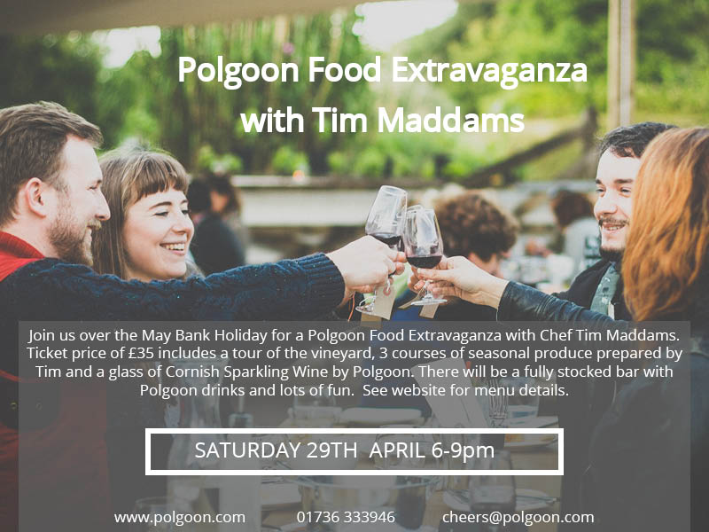 Cornish Food & Drinks Extravaganza with Tim Maddams