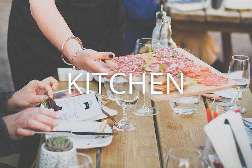 Kitchen at Polgoon